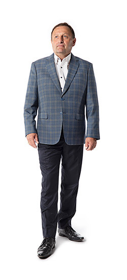 Santa Barbara Blue Sport Coat
