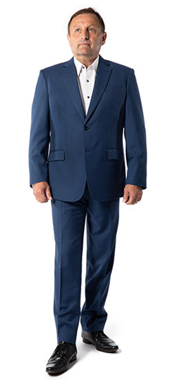 Boston Bluish Grey Suit