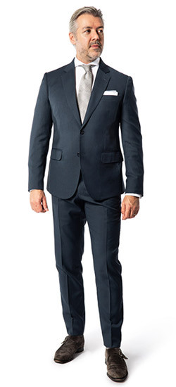 Custom Suits in Hong Kong|Dark Blue Suits Hong Kong