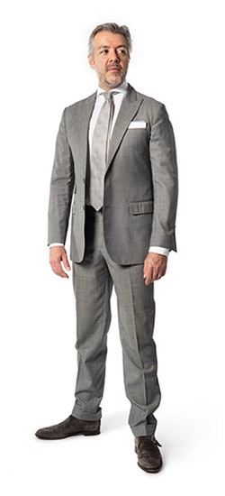 Bespoke Suits Washington DC|Light Grey Bespoke Suit