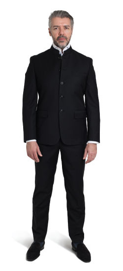 Mandarin Collar Suit
