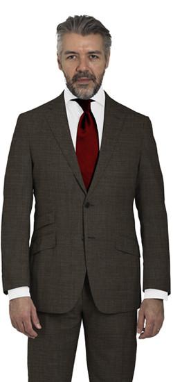 Medium Brown Custom Suit